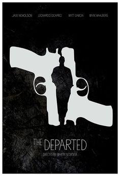 Minimalistic Movie Posters - Illustration