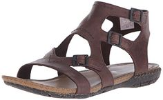 Merrell Womens Whisper Buckle Gladiator SandalBrown9 M US -- Want additional info? Click on the image.