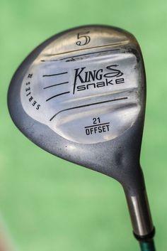 King Snake Series II 21 degree offset 5 wood fairway metal - used golf club #KingSnake