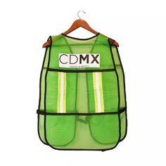 Chaleco Reflejante Verde Cdmx Protección Ciclismo - $ 115.00