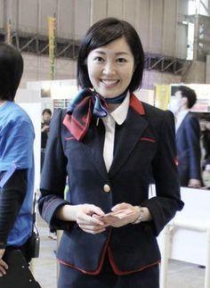 Cabin Crew, Blazer, Airplane, Aviation, Jackets, Japan, Beauty, Fashion, Pretty Girls