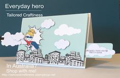 Welcome to Tailored craftiness this morning! Everyone has every day hero's in their lives-I've blogged about some earlier this year, people...