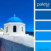 PALETA #00451 - #00500 Blue Gray Paint, Blue Paint Colors, Wall Paint Colors, Room Colors, Colour Pallette, Color Azul, Colour Schemes, Color Combos, Coastal Color Palettes