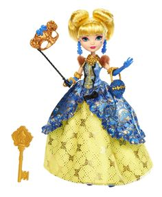 Amazon.com: Ever After High Thronecoming Blondie Lockes Doll: Toys & Games