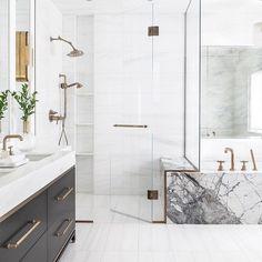 Elegant and luxury bathroom design ideas for a unique home decor. Elegant and luxury bathroom design ideas for a unique home decor. Modern Bathroom Design, Bathroom Interior Design, Decor Interior Design, Bathroom Designs, Bathroom Ideas, Bathroom Organization, Luxury Interior, Marble Interior, Interior Ideas