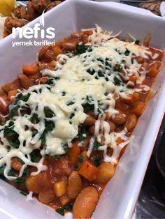 Az Sulu Barbunya - Videolu Tarif - World Food & Recipes Meat Recipes, Dinner Recipes, Turkish Recipes, Ethnic Recipes, Food Articles, Kidney Beans, Homemade Beauty Products, Chana Masala, Chili