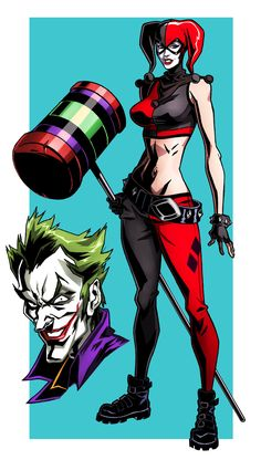 Harley Quinn Assault on Arkham fan art by CHUBETO.deviantart.com on @deviantART