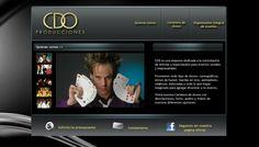 Sitio web para CDO Producciones