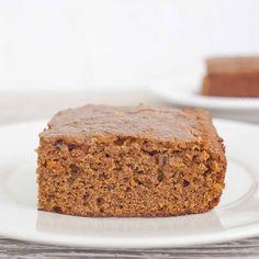 Sweet Potato Breakfast Cake -- I'd exchange the butter for applesauce and/or banana