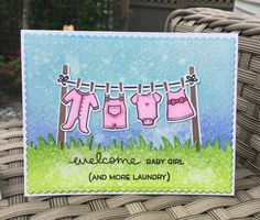 Little Bundle stamp set from Lawn Fawn.
