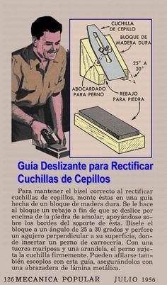 GUIA DESLIZANTE PARA RECTIFICAR CUCHILLAS DE CEPILLOS JULIO 1956 001A copia