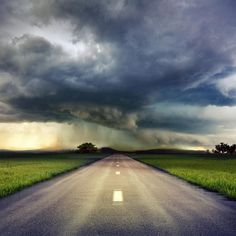 The magic of weather.  #roadtrips  #weather  #journey #theroadlesstravelled