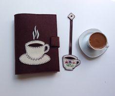 Fincan Figürlü Kitap Kılıfı ve Ayracı. 251172 | zet.com