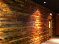 barnwood walls | photo courtesy adam tilford reclaimed barn wood defines the new look ...