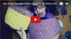 Qrkoko.pl - Jak zrobić szydełkowany koszyk i czym jest Camel Stitch - Kurs Szydełkowania [lekcja #2]