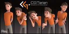 Ray Character Rig by CGTarian