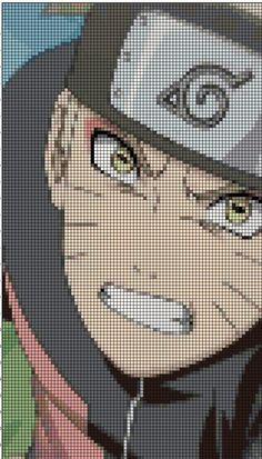 Naruto anime cross stitch pattern by Vandihand on Etsy
