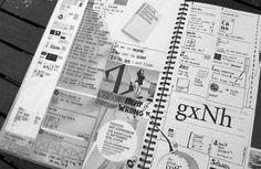 Sketchbook Freelance Graphic Design Sketchbooks of Danny Haines // Graphic Designer Based near Tamworth, Staffordshire, UK Sketchbook Layout, Sketchbook Pages, Sketchbook Ideas, Sketchbook Inspiration, Sketchbook Drawings, Sketches, Signage Design, Typography Design, Branding Design
