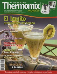 Rev. Thermomix magazine nº 9. El bonito protagonista del verano