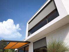 Σύστημα κάθετης σκίασης markilux 876! Glass Roof, Sit Back And Relax, Conservatory, Perfect Place, Canopy, How To Look Better, Garage Doors, Stairs, Solar