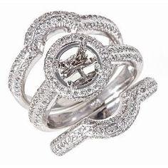 wedding ring setting - Wedding Ring Settings