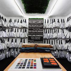 Our shoe room aka shoe heaven! Shoes designed for you, by you. #VIAJIYU #florence #italy #design #shoes #shoeheaven #funfreshflirty