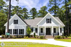Plan Exclusive Farmhouse with Bonus Room and Side Load Garage – Farmhouse Plans
