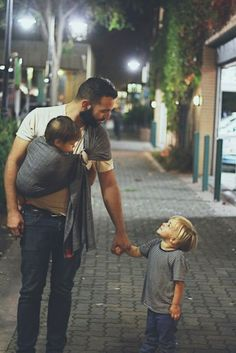 20 pictures that a man with children is cool - @lulcocal