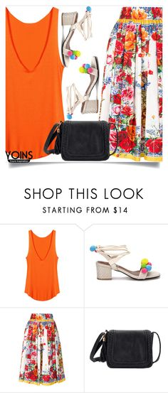 """Yoins 7"" by mell-2405 ❤ liked on Polyvore featuring Dolce&Gabbana, yoins, yoinscollection and loveyoins"