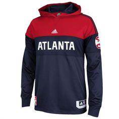 adidas Atlanta Hawks Pre-Game Hooded Long Sleeve Shooter #hawks #nba #basketball