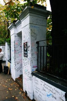 Abbey Road graffiti