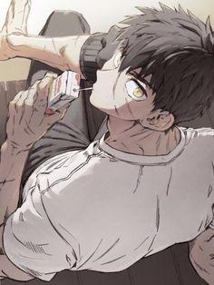 28 trendy ideas for funny cartoons drawings guys Handsome Anime Guys, Cute Anime Guys, Anime Boys, Art Manga, Manga Anime, Anime Art, Anime Boy Zeichnung, Anime Lindo, Boy Art