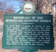 Millerites begin modern Seventh Day Adventist Church in 1842