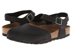 Conference shoes?...Birkenstock Messina Soft Footbed Black Oiled Leather - Zappos.com Free Shipping BOTH Ways