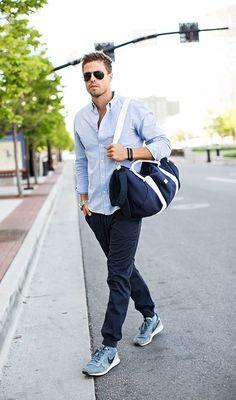 Une tenue casual décontractée #look #men #mode #homme #fashion #casual #fashionformen