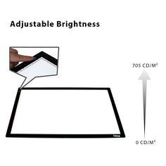 Litup A3 Light Box Light Pad Light Table Drawing Light Board
