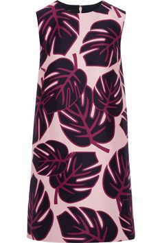 Mother of Pearl Franklin printed sateen mini dress Pink Fashion, Fashion Dresses, Purple Mini Dresses, Pearl Dress, Holiday Fashion, Holiday Style, Discount Designer Clothes, Clothes For Sale, Dress To Impress