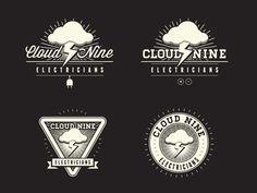 Cloud Nine Electricians Logos
