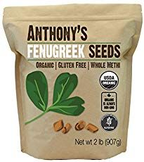 Our Organic Fenugreek Seeds are USDA Organic certified by CCOF and is also batch tested and verified gluten free! Anthony's Organic Fenugreek Seeds are gluten-free, so it's safe for those with gluten sensitivity or celiac. Cooking Recipes For Dinner, Gourmet Recipes, Sin Gluten, Fenugreek Tea, Natural Spice, Increase Milk Supply, Insulin Resistance, Gluten Free Recipes, Fast Recipes