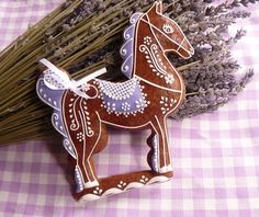 ,Horse Ginger Bread or chocolate cookie.