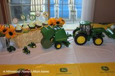 John Deere Tractor Birthday Party! Food, Games, Favors & More!
