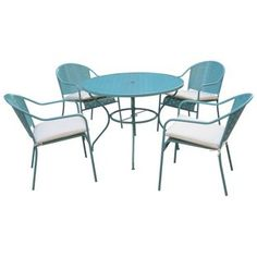 Buy Rayleigh 4 Seater Garden Dining Set at Argos.co.uk, visit Argos.co.uk to…