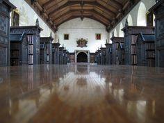 Antigua Biblioteca, el Colegio de San Juan, Universidad de Cambridge, Cambridge, Reino Unido