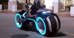 The Electric Tron Lightcycle is an awesome street legal motorcycle. It was created by Parker Brothers and as the name suggests the motor is electric. It is capable of travelling at speeds of more than 100 miles per hour. That is fast! When the body lights are turned on it is certainly an awesome night time vision. Charging the lithium-ion batteries only takes thirty-five minutes.