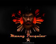 What Philippine pinboard would be complete without #mannypacquiao #pacman
