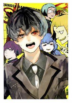 Sui Ishida, Tokyo Ghoul:RE, Quinx Squad