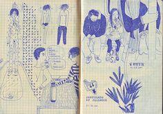 Cuaderno Azul/ powerpaola