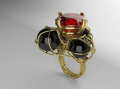 Gold Ring by Lorenzo Caponi