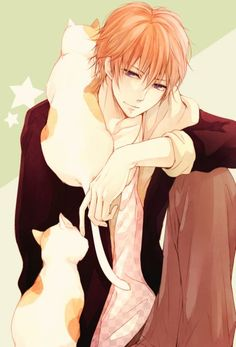 Natsume and the cats :3 | Brother's Conflict