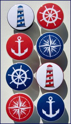Kids Dresser Knobs Drawer Pulls Nautical by SweetPetitesBoutique Nautical Drawer Knobs, Nautical Drawers, Nautical Dresser, Nautical Signs, Nautical Prints, Nautical Compass, Stone Art Painting, Rock Painting Designs, Drawer Handles